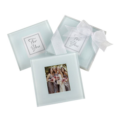 Kate Aspen Glass Coaster Gift Set