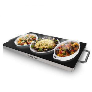 Nutrichef Portable Electric Food Hot Plate 2
