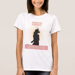 Rock Star Bat Mitzvah T-Shirt-Purple Pink T-Shirt