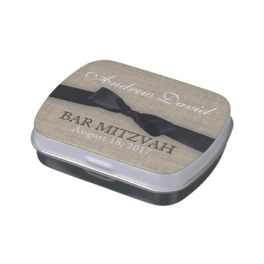 Rustic Country And Black Tie Affair Jelly Belly Tins