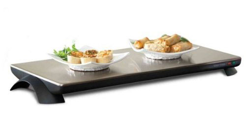 Salton Cordless Classic Stainless Steel Warming Tray