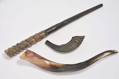 3 Shofars Set Kudu Ram Gemsbok Shofar Horns