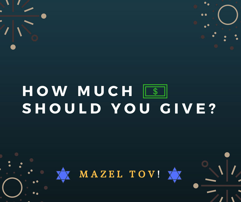 Bar Mitzvah Gift Amount