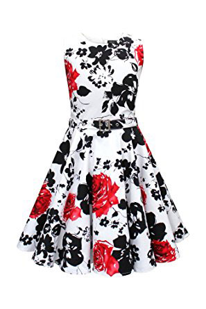 Blackbutterfly Kids Audrey Vintage Serenity 50s Girls Dress