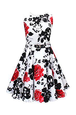 Blackbutterfly Kids Audrey Vintage Serenity 50s Girls Dress