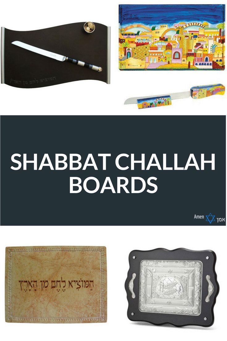 Challah Boards Shabbat