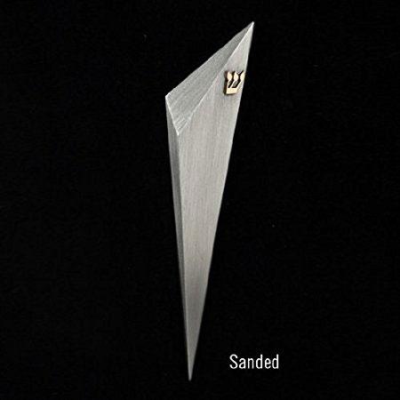 Hand Fabricated Contemporary Judaica Pewter Mezuzah