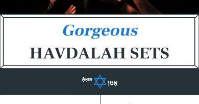 Havdalah Sets