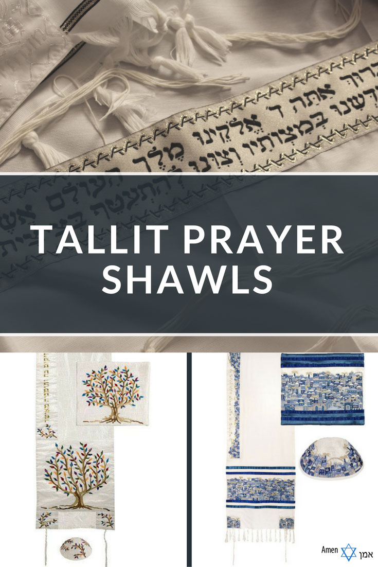 20+ Best Authentic & Modern Tallit Prayer Shawls from Israel