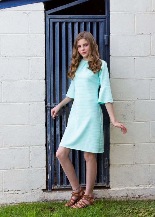 Laura Tween Dress Mint