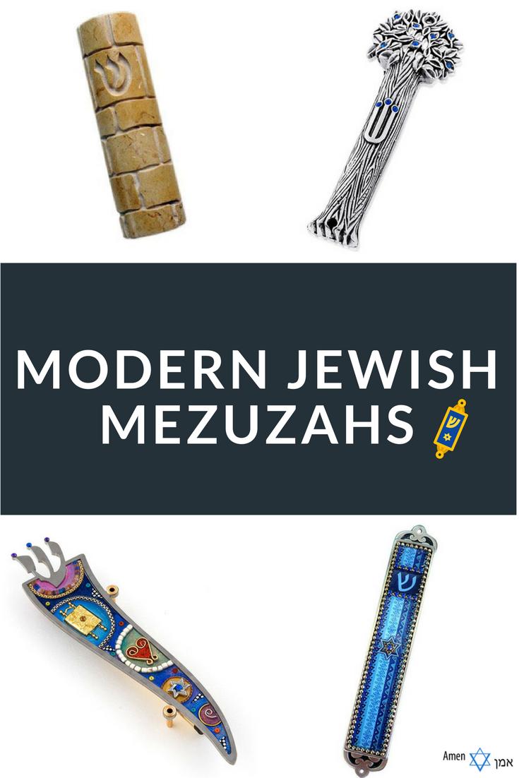 Modern Mezuzahs