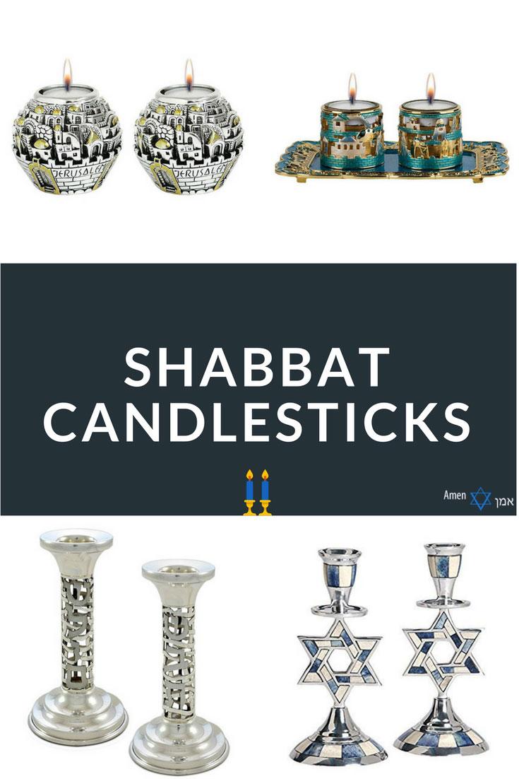 Shabbat Candlesticks