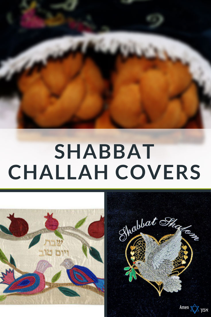 Shabbat Challah Covers