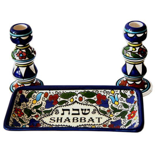 Shabbat Set Armenian Ceramic