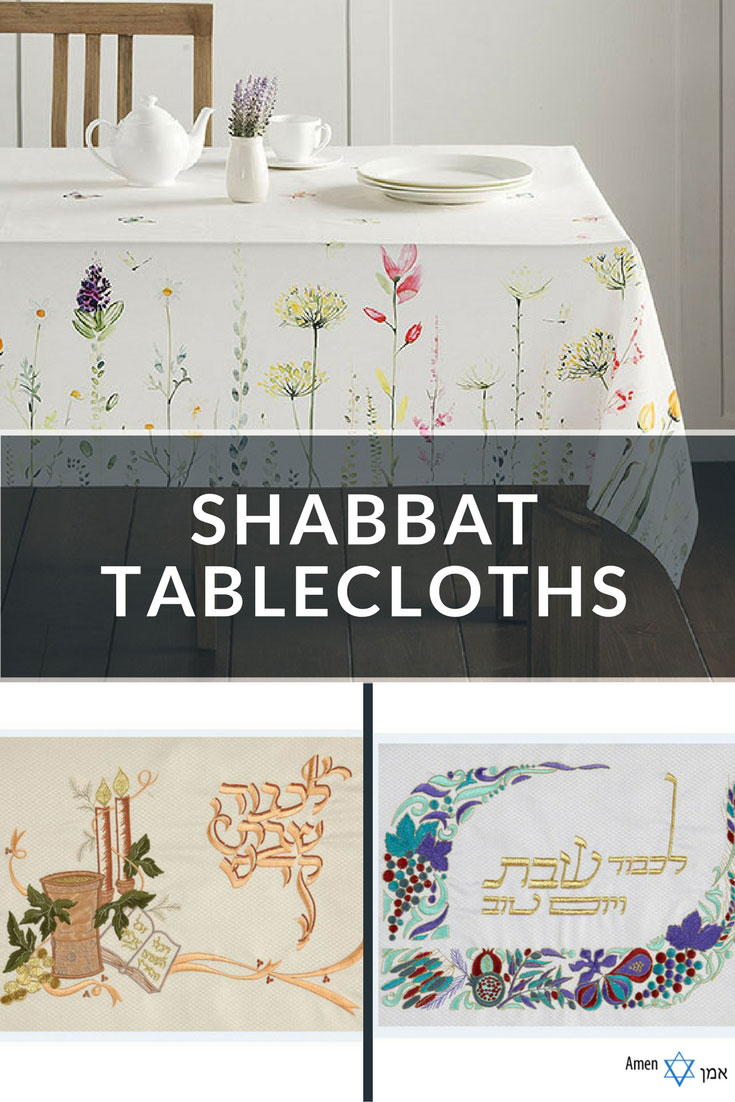 Bon 7 Stunning Shabbat Tablecloths U0026 Jewish Table Settings U2013 Made In Israel  (2018)