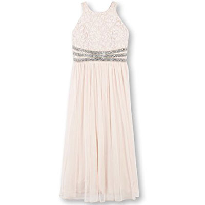 Speechless Girls Lace To Chiffon Maxi Dress