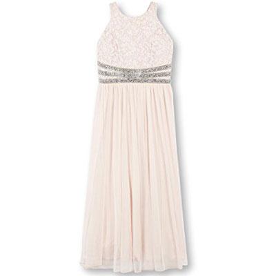 Speechless Girls Lace To Chiffon Maxi Dress