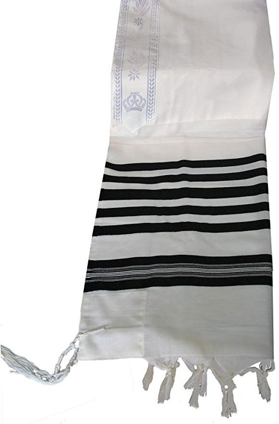 Talitnia Traditional Tallit 100% Wool Tallis