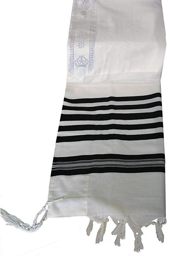 Talitnia Traditional Tallit 100% Wool Tallis