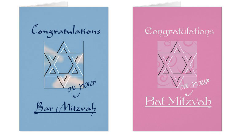 What To Write On Bar Bat Mitzvah Card