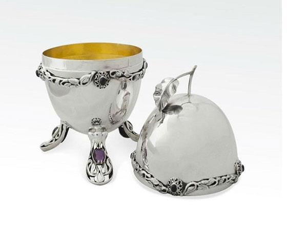 Baruch Sterling Silver Citron Box