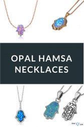 Best Opal Hamsa Necklaces