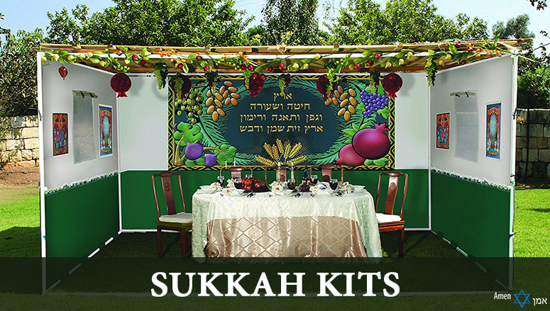 Easy & Cheap Sukkah Kits