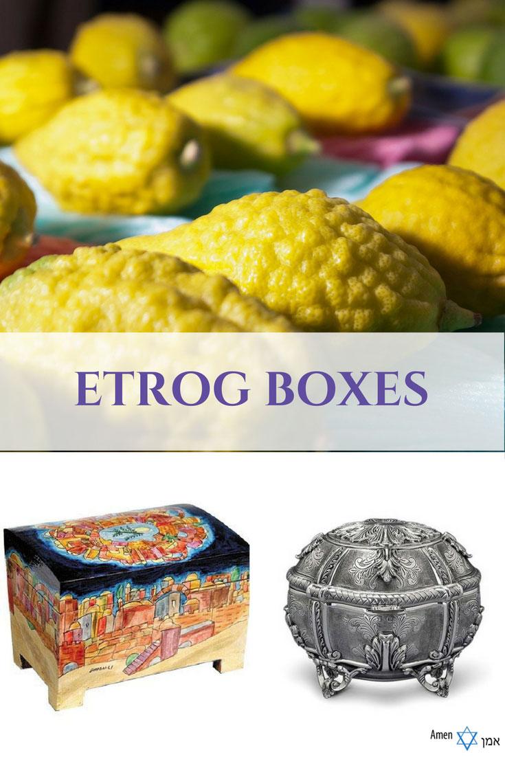 Etrog Boxes