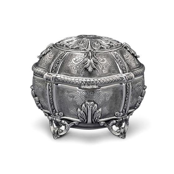 Hazorfim 925 Sterling Silver Etrog Box Belino