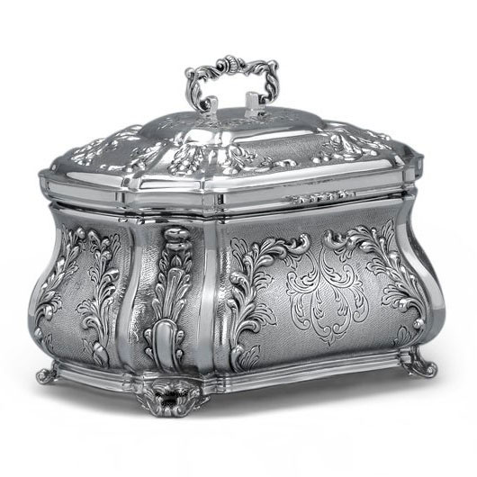 Hazorfim 925 Sterling Silver Etrog Box Compatilo