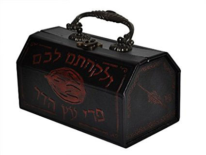 Leather Etrog Chest