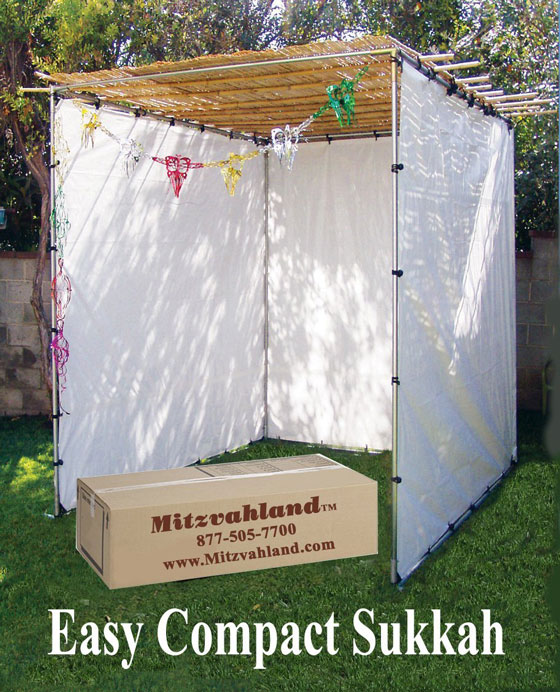 Mitzvahland Easy Compact Sukkah