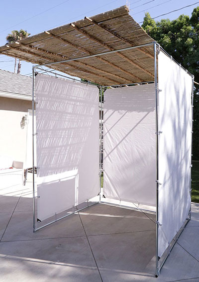 Sieger Sukkah Easy To Assemble Snap Button Sukkah Kit3