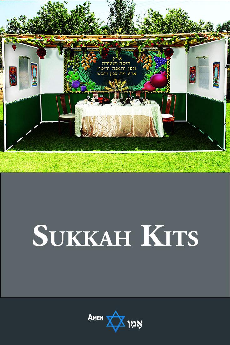 Sukkah Kits For Sukkot Large