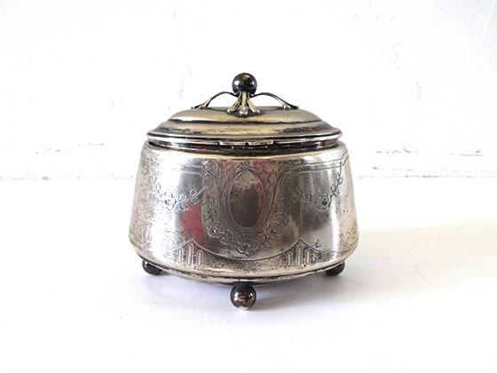 Vintage Antique Pre War Viennese Austrian Silver Etrog Box