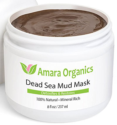 Amara Organics Dead Sea Mud Mask For Face & Body