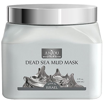 Anjou Dead Sea Mud Mask For Facial Treatment