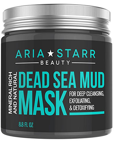 Aria Starr Beauty Natural Dead Sea Minerals Mud Mask