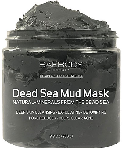 Dead Sea Minerals Mud Mask Best For Facial Treatment & Acne