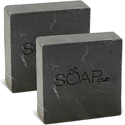 Dead Sea Mud Natural Soap With Coconut Oil (2 Pack)