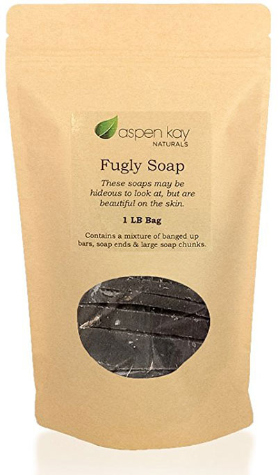 Dead Sea Mud Soap, 1 Pound Bag Of Fugly Soap