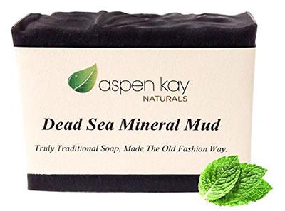 Dead Sea Mud Soap Bar 100% Organic & Natural