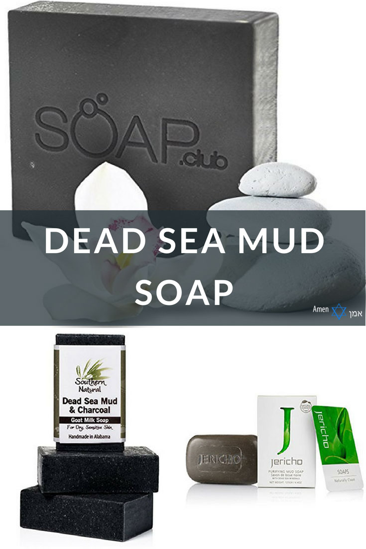 Dead Sea Mud Soap Bars