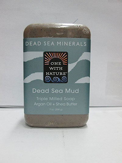One With Nature Dead Sea Mud Soap Bar