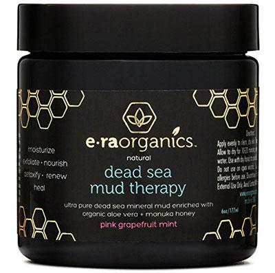 Organic Dead Sea Mud Mask With Aloe Vera, Shea Butter, Manuka Honey & Hemp Oil