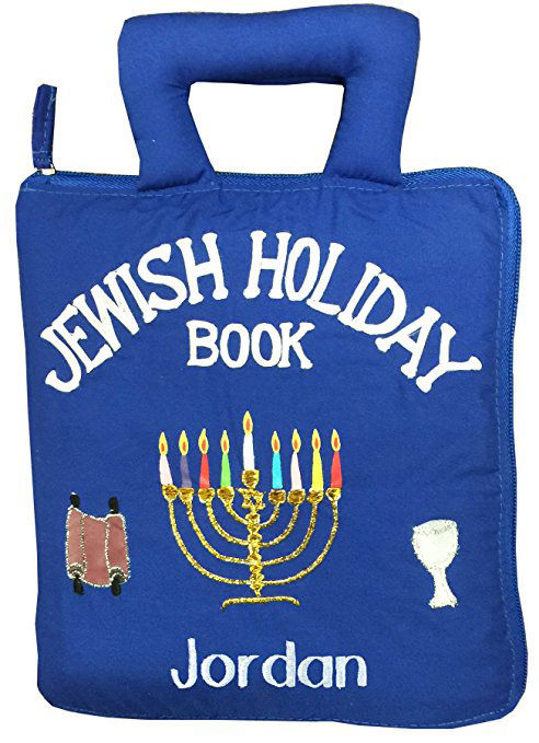 Personalized Jewish Holiday Quiet Book For Children
