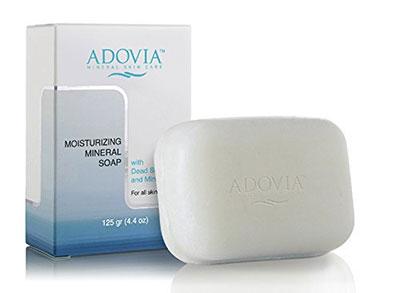 Adovia Dead Sea Salt Moisturizing Soap For Dry Or Sensitive Skin