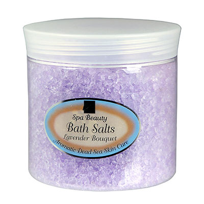 Aromatic Dead Sea Bath Salt Lavender Bouquet