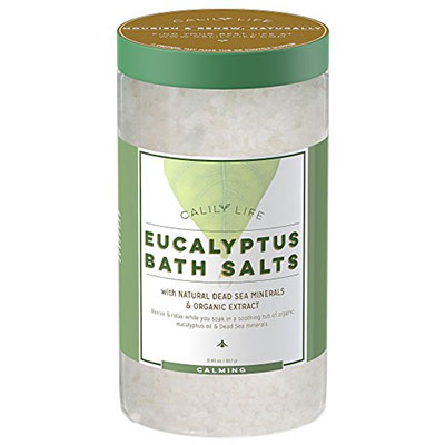 Calily Life Organic Dead Sea Salt With Eucalyptus