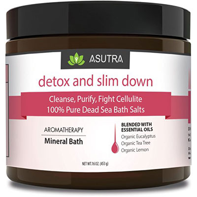 Detox Slim Down Pure Dead Sea Bath Salts